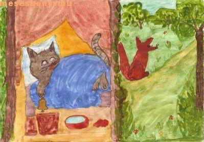 Mese, mesekönyv, meséskönyv, gyermekmese, Kacor király,  népmese
